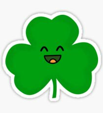 Happy Shamrock Sticker
