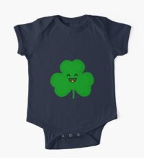 Happy Shamrock One Piece - Short Sleeve