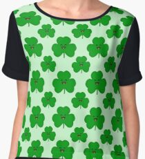 Happy Shamrock Chiffon Top