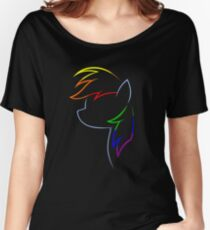 Flash of Rainbows Women's Relaxed Fit T-Shirt