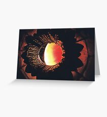 Red Lamp Greeting Card