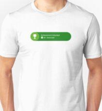 Achievement Unlocked - 20G Exercised Unisex T-Shirt