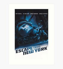Escape from New York Art Print