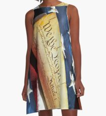 US Constitution  A-Line Dress