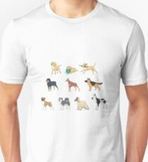 Purebred dogs Unisex T-Shirt