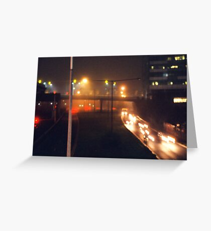 The Lights of Night Greeting Card