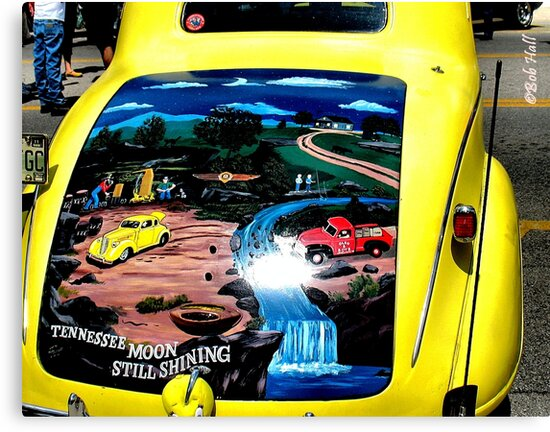 """""""van Gogh on a Vehicle""""... prints and products by © Bob Hall"""