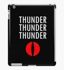 Thunder X3 iPad Case/Skin