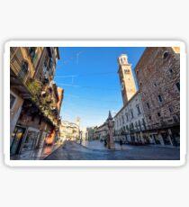 Piazza Delle Erbe, Verona Sticker