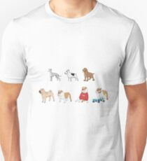 Purebred dogs 3 Unisex T-Shirt