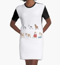 Purebred dogs 3 Graphic T-Shirt Dress