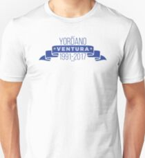 Yordano Ventura- Baseball Player Unisex T-Shirt
