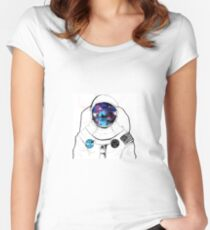 spacesuit Women's Fitted Scoop T-Shirt