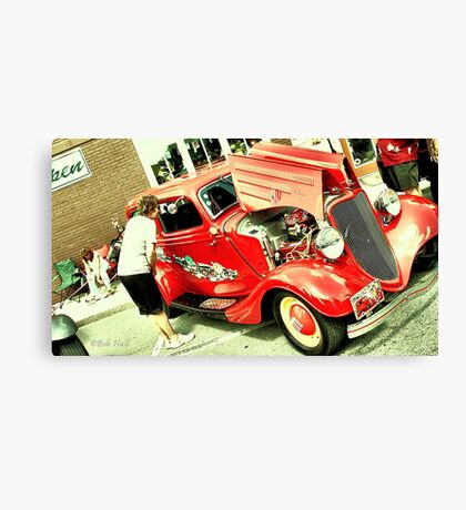 """The M&M's Car, 1933 'Flathead' Ford V8""... prints and products Canvas Print"