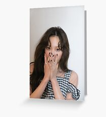 Taeyeon My Voice Greeting Card