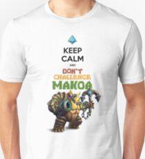 Keep Calm and Don't Charge Makoa Unisex T-Shirt