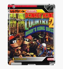 Donkey Kong Country 2 Super Nintendo Collection  iPad Case/Skin