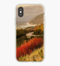 Autumn on the Cabot Trail iPhone Case