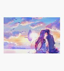 Sword Art Online Asuna e Kirito Poster, Cover ecc. Photographic Print