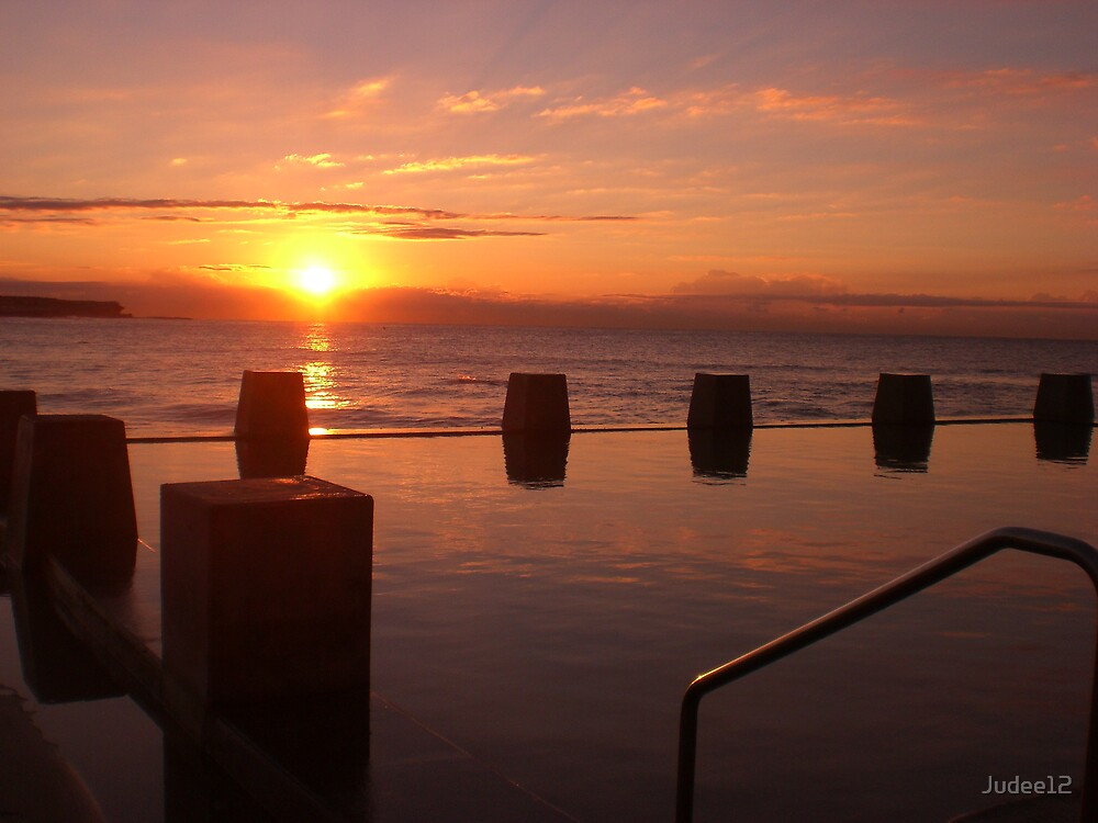 Coogee Sunrise by Judee12