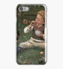 Adolf Lins - Blowing Bubbles iPhone Case/Skin