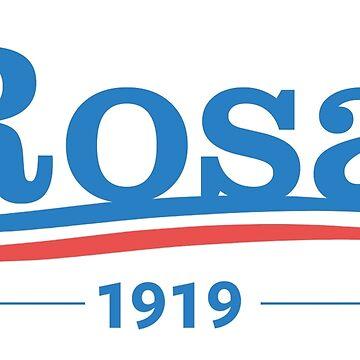 Rosa 1919 by rosaluxemburg