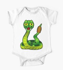 Green Rattle Snake Kids Clothes