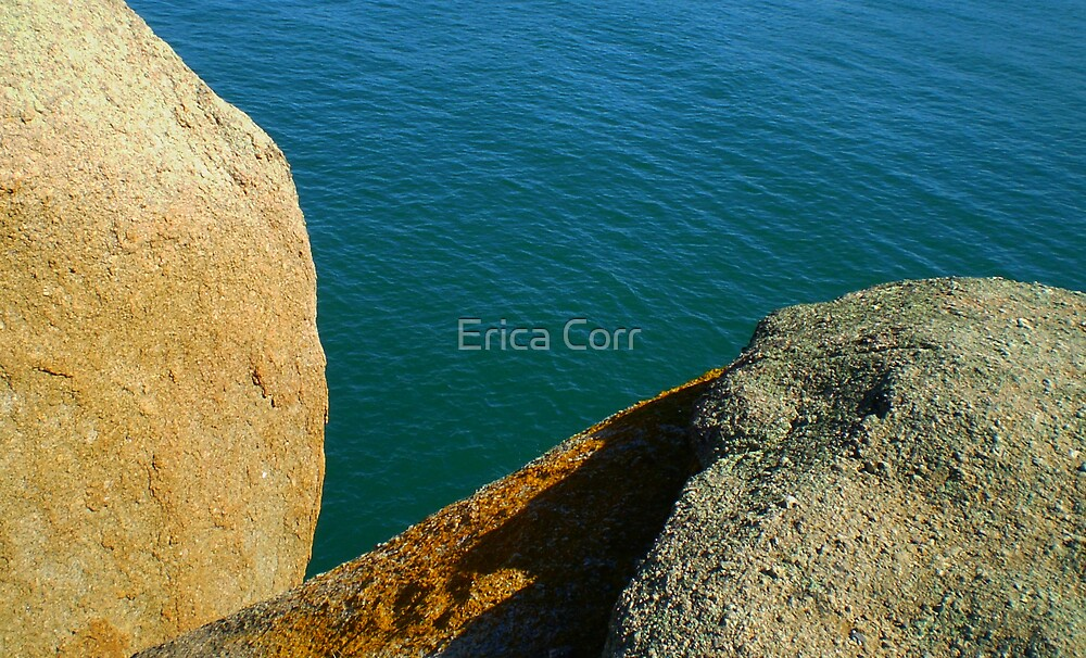 Rocks and Water by Erica Corr