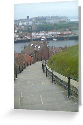 Whitbys 99 steps by Wrigglefish