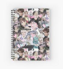 Bambam Collage Spiral Notebook