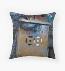 Letterbox Throw Pillow