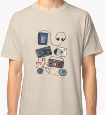 Retro tunes Classic T-Shirt