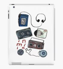 Retro tunes iPad Case/Skin