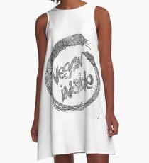 vegan A-Line Dress