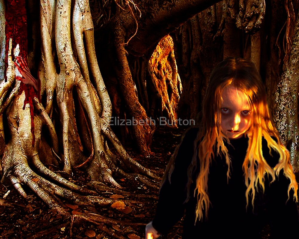 One Who Walks Among The Roots by Elizabeth Burton