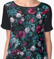 RPE FLORAL ABSTRACT III Chiffon Top