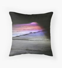 Light Flagging Throw Pillow