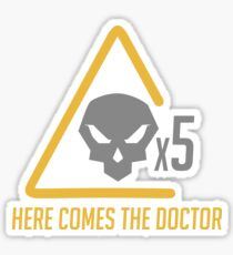 Here comes the doctor Sticker