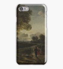 Aert Van Der Neer - An Evening View Near A Village iPhone Case/Skin
