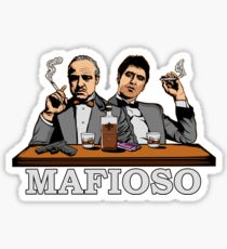 Mafioso Sticker