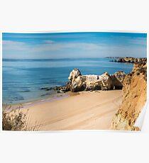 Praia da Rocha in Portimao, Algarve Poster
