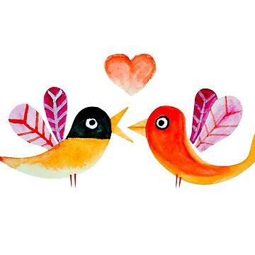 Love Birds by swghosh