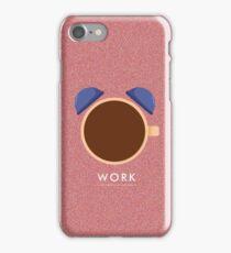 WORK iPhone Case/Skin