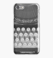 Vintage Typewriter Study iPhone Case/Skin