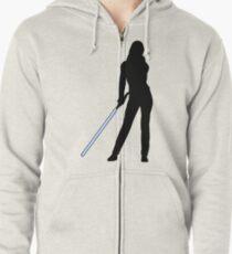 Jedi Bride Zipped Hoodie