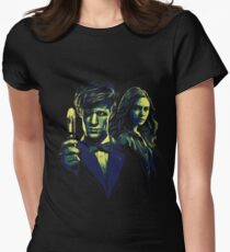 Doctor and his Companion Women's Fitted T-Shirt