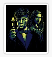 Doctor and his Companion Sticker