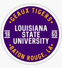 Louisiana State University - Style 25 Sticker