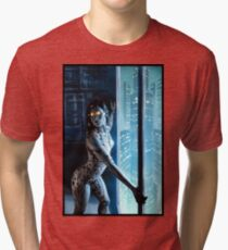 Cyberpunk Painting 046 Tri-blend T-Shirt