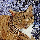 Mosaic Cat by skidgelstudios